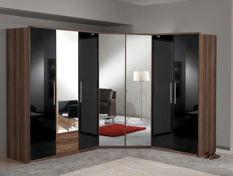 Особенности дизайна угловых шкафов