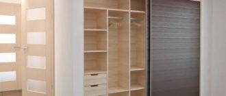 Каким может быть дизайн-проект встроенных шкафов-купе