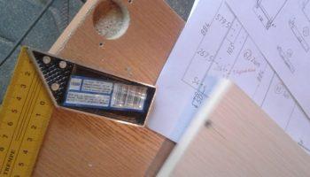Подготовка к сборке мебели: разметка и присадка ЛДСП своими руками