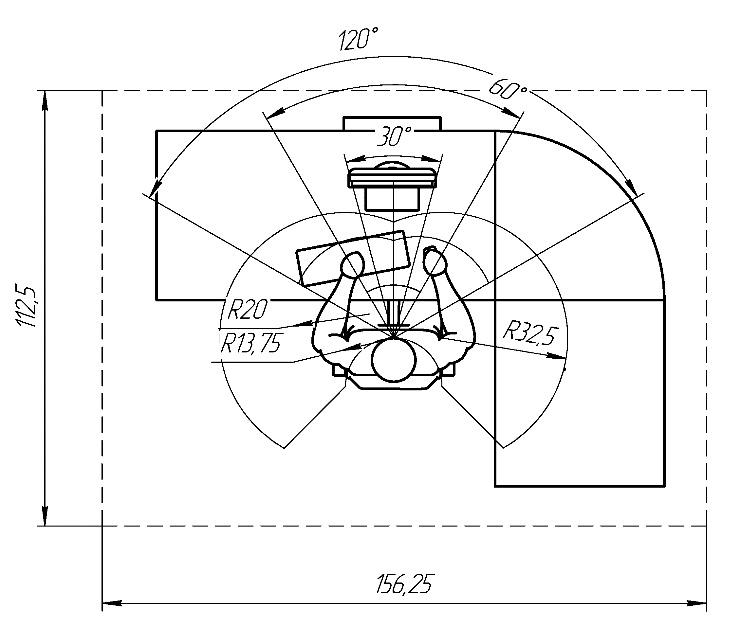 проектирование углового стола, нюансы