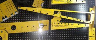 Мебельные кондукторы: подборка столярных шаблонов для разметки деталей для домашнего мастера