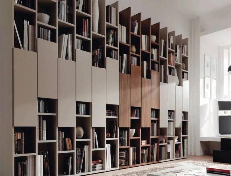 Домашняя библиотека в интерьере квартиры, идеи обустройства и фото дизайна